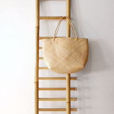 handmade straw shoppers bag
